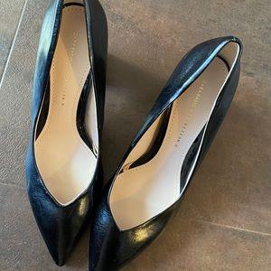 Beautiful brand new Zara chunky heel pumps.
